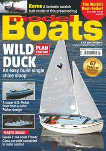 Model Boats - July 2017