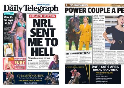 The Daily Telegraph (Sydney) – April 04, 2019