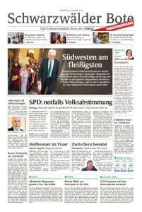 Schwarzwälder Bote Hechingen - 08. Januar 2019