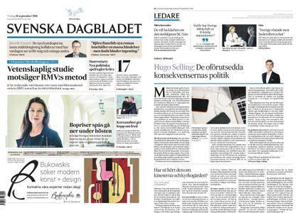Svenska Dagbladet – 18 september 2018