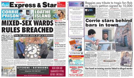 Express and Star Sandwell Edition – October 23, 2019