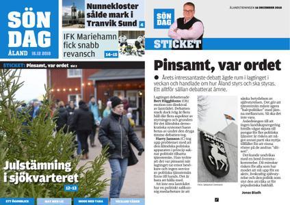 Ålandstidningen – 16 december 2018