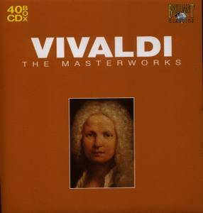 Vivaldi - The Masterworks (2007) (40CD Box set) {Brilliant Classics}