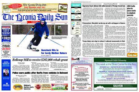 The Laconia Daily Sun – December 05, 2017