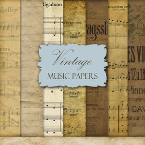 Vintage Music Papers