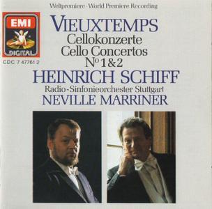 Heinrich Schiff, Radio-Sinfonieorchester Stuttgart, Sir Neville Marriner - Vieuxtemps: Cello Concertos Nos. 1 & 2 (1987)