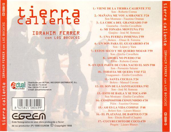 Ibrahim Ferrer  - Tierra Caliente (Roots of Buena Vista) - 2000