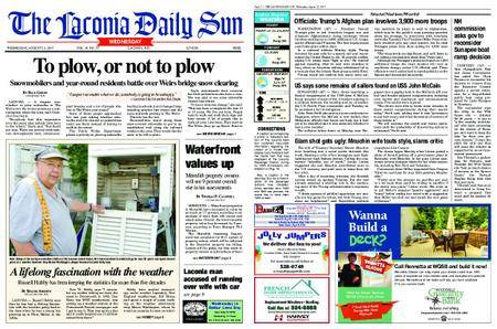 The Laconia Daily Sun – August 23, 2017