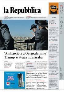 la Repubblica - 6 Dicembre 2017