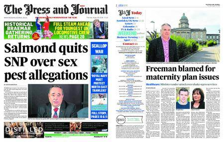 The Press and Journal Moray – August 30, 2018