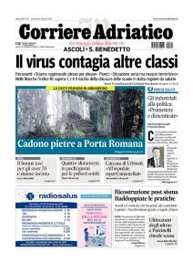 Corriere Adriatico Ascoli - 4 Marzo 2021