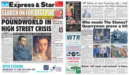 Express and Star City Edition – June 12, 2018
