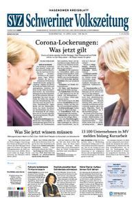 Schweriner Volkszeitung Hagenower Kreisblatt - 16. April 2020