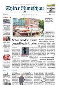 Sylter Rundschau - 06. Juli 2018