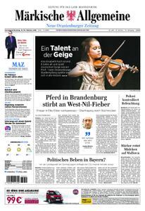Neue Oranienburger Zeitung - 13. Oktober 2018