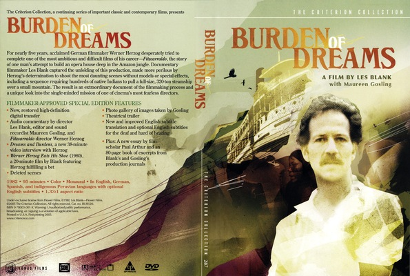 Burden of Dreams (1982) [The Criterion Collection #287 - OUT OF PRINT]