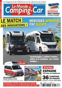 Le Monde du Camping-Car - novembre 2019