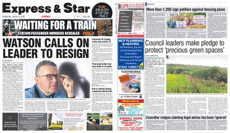 Express and Star Sandwell Edition – January 15, 2020