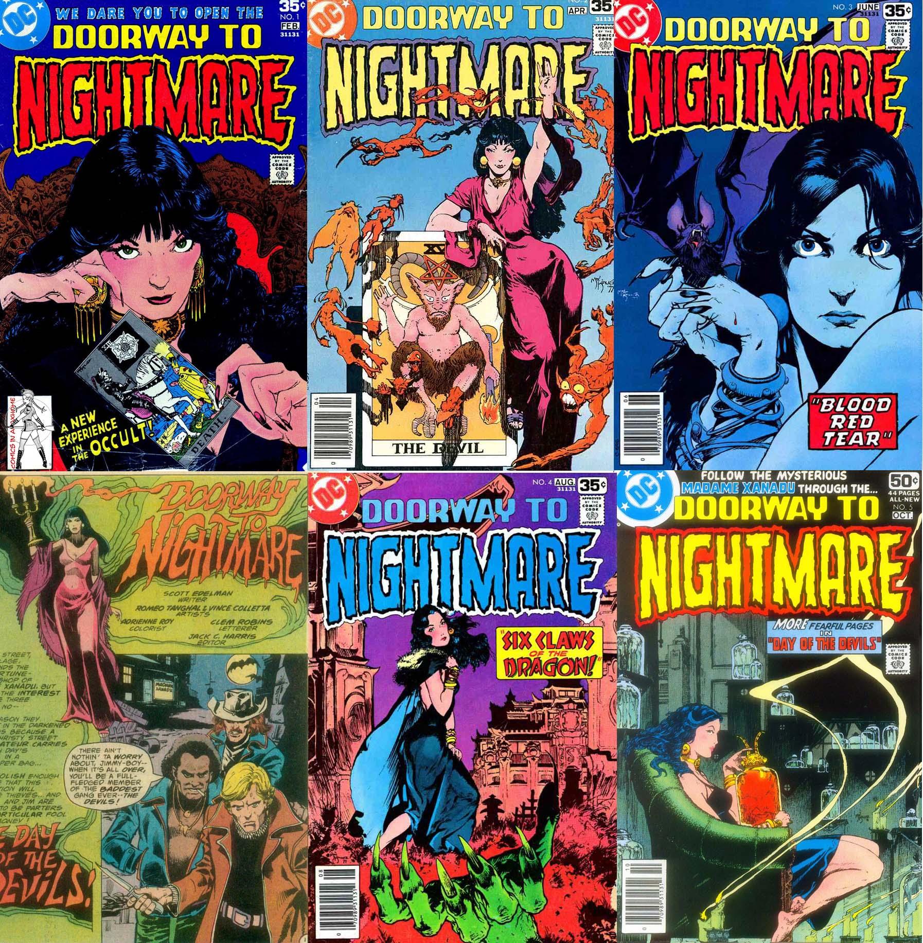 Doorway To Nightmare #1-5 (1978)