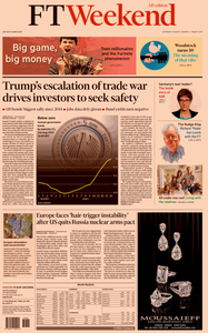 Financial Times USA – 03 August 2019
