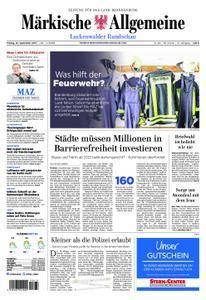 Märkische Allgemeine Luckenwalder Rundschau - 22. September 2017