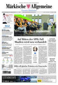 Märkische Allgemeine Zossener Rundschau - 22. September 2018