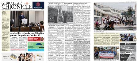 Gibraltar Chronicle – 17 September 2019