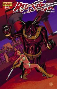 Dynamite-Red Sonja Monster Isle 2015 Hybrid Comic eBook