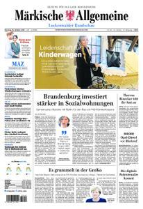 Märkische Allgemeine Luckenwalder Rundschau - 16. Oktober 2018