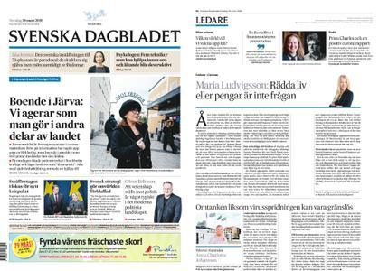 Svenska Dagbladet – 26 mars 2020