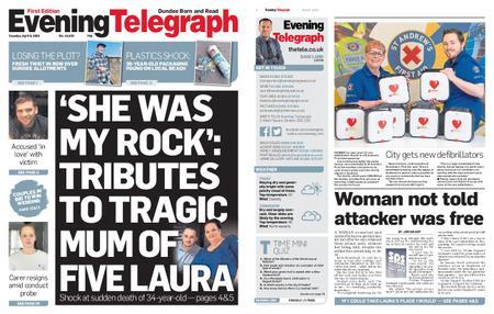 Evening Telegraph First Edition – April 09, 2019