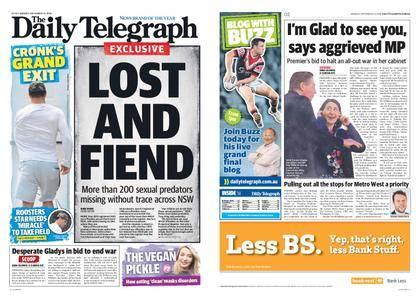 The Daily Telegraph (Sydney) – September 24, 2018