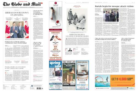 The Globe and Mail – March 20, 2019