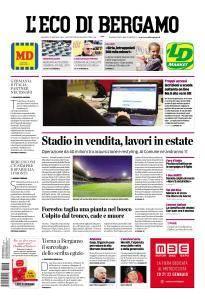 L'Eco di Bergamo - 17 Gennaio 2017