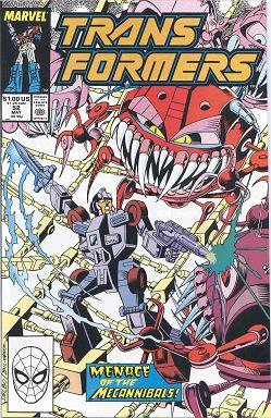 Transformers Issue #52 Vol. 1