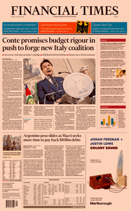 Financial Times Europe – 30 August 2019