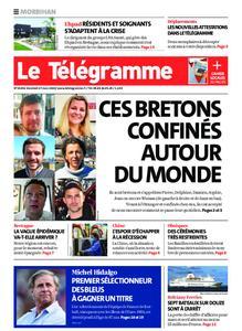 Le Télégramme Auray – 27 mars 2020