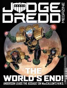 Judge Dredd Megazine 390 2017 digital juvecube