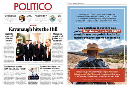 Politico – July 11, 2018