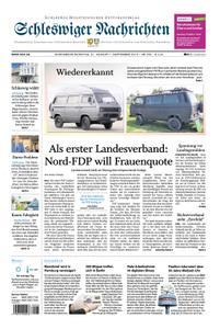 Schleswiger Nachrichten - 31. August 2019