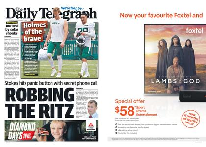 The Daily Telegraph (Sydney) – August 08, 2019