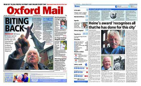 Oxford Mail – January 20, 2018