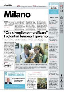 la Repubblica Milano - 23 Dicembre 2018
