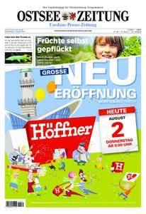 Ostsee Zeitung Wolgast - 02. August 2018