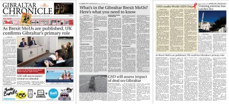 Gibraltar Chronicle – 01 December 2018