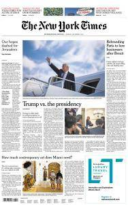 International New York Times - 11 December 2017