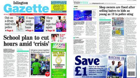 Islington Gazette – May 23, 2019