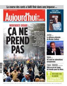 Aujourd'hui en France du Vendredi 23 Mars 2018