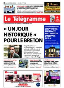 Le Télégramme Landerneau - Lesneven – 09 avril 2021