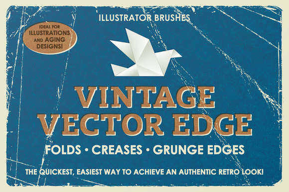 CreativeMarket - Vintage Vector Edge Brushes